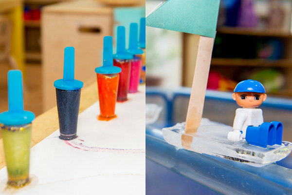Ice, ice baby – Super chill play time ideas for the Summer